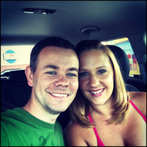 Kyle alongside his wife, Patty