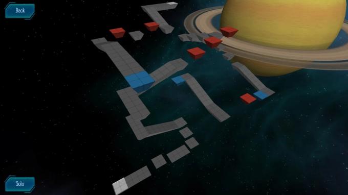 Solar Roller Saturn Level